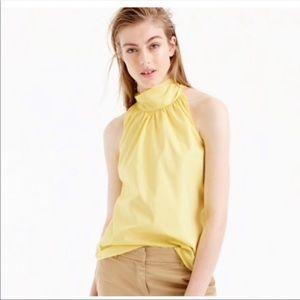 J CREW | Yellow Tie - Neck Tank Top | Size 8